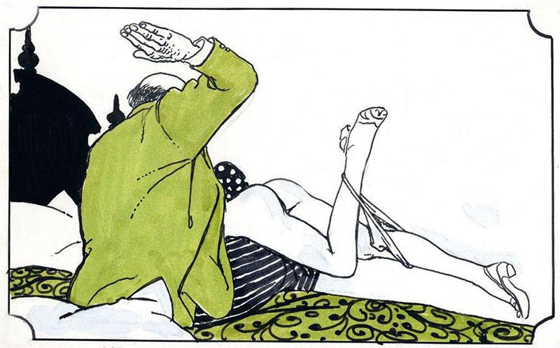 L'art de la fessée.