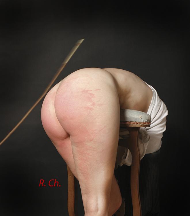 Elle souhaitait une sérieuse correction en étant attachée.