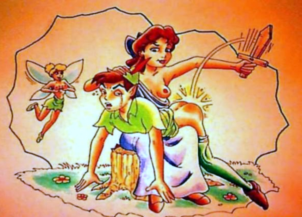 Wendy fesse Peter Pan