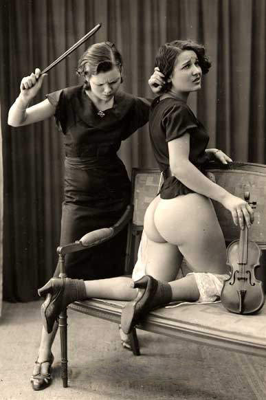 Etudiante au violon