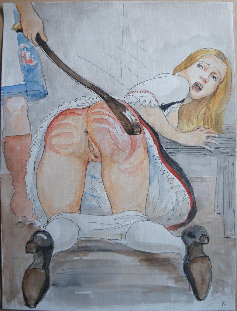 Farm spanking