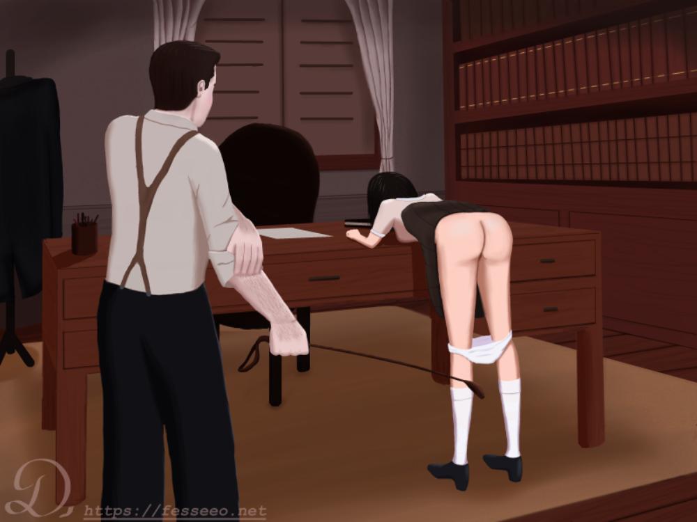Dans le bureau de Monsieur