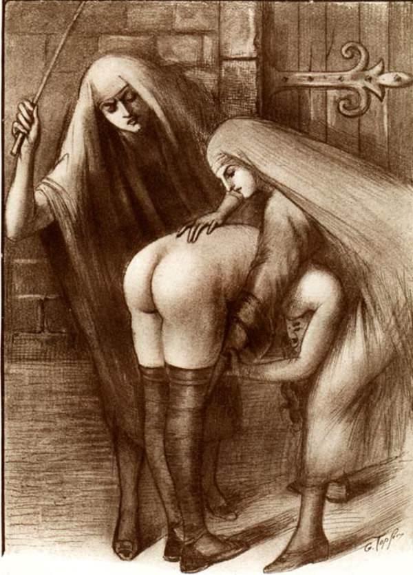 Le fouet au couvent