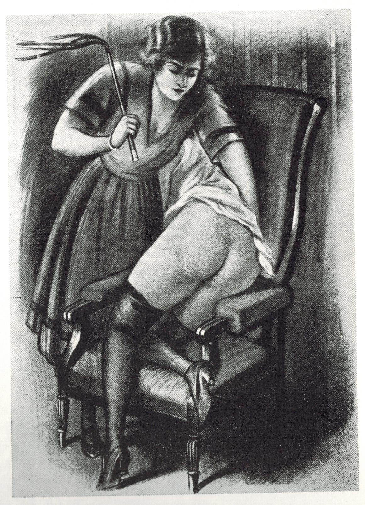 George Topfer Dessin Noir et blanc F/F Martinet Vintage