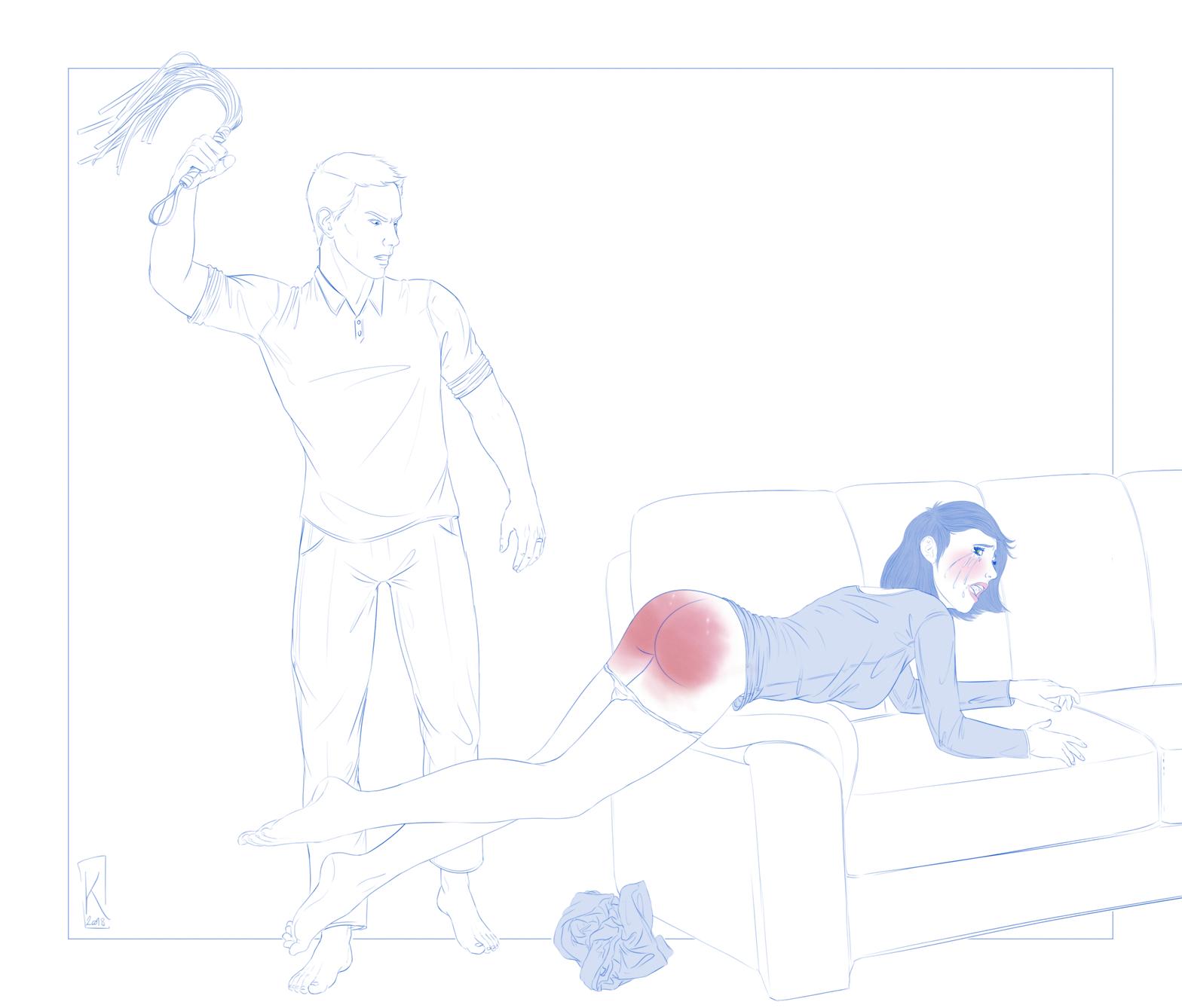 Rubis sur canapé