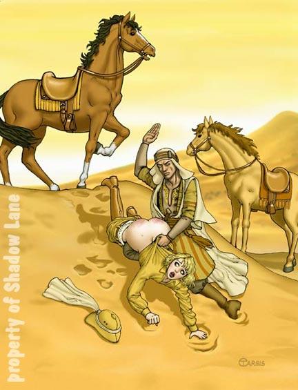 Sheik Spanking