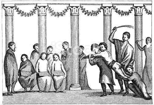 Théodora et le châtiment de Saturnin