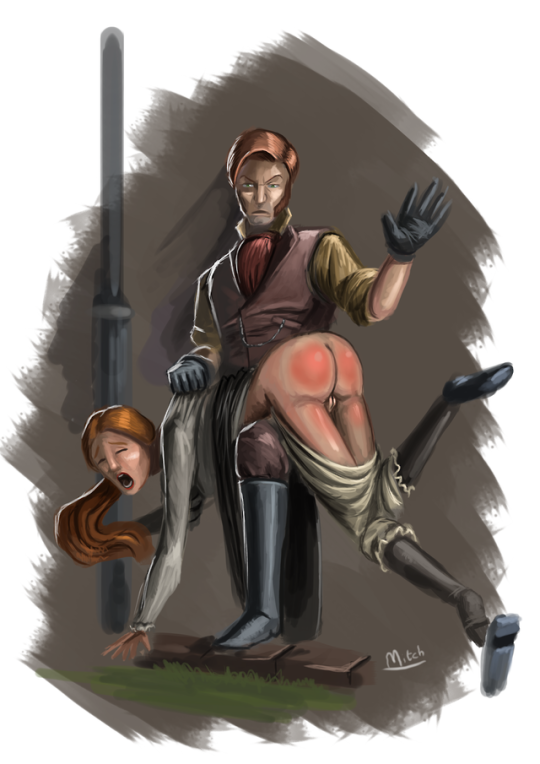 Victorian Girl Spanked